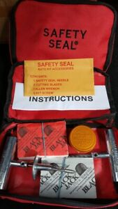 Safety Seal Black Jack Professional Tire Repair Pouch