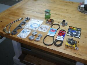 Ford 302 1965 Mustang Grab Bag Of Parts Exhaust Gaskets U Joint Seals Plus