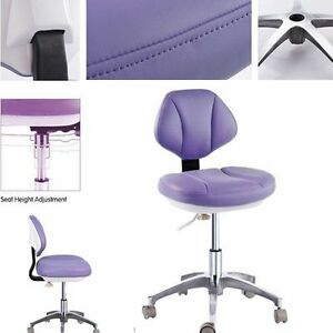 Microfiber Leather Medical Dental Stool Dentist Assistant Stools Mobile Chair