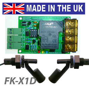 Iacs Fully Automatic Water Tank Level Controller Pump 25a Float Switch Kit Ac Dc