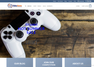Turnkey Dropshipping Video Games Store Premium Business Website Free Hosting A