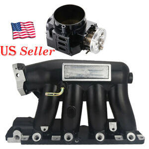 For 06 11 Civic Si K20z3 2004 2008 Acura Rsx Base Intake Manifold throttle Body