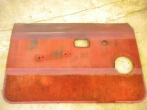 1981 Chevy Luv Isuzu Pup Diesel C223 Left Hand Inside Door Panel
