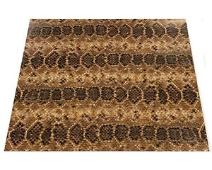 Rattlesnake Skin Htv Heat Transfer Vinyl Printed Snake Craft 14 X 12 Sheet Mask