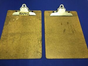 Lot Of 2 Letter Sized Clipboards