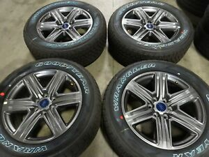 20 Ford F150 Factory Oem Wheels Rims Goodyear Tires Expedition Navigator 10172