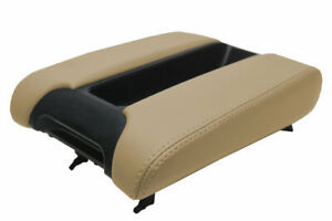 Center Console Lid Armrest Leather Cover For Bmw E39 97 03 Beige