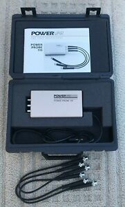Powervar Power Probe 115 Power Tester Manual 3 Cables 120 250 Vac Pp115