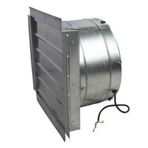 Maxx Air If18 18 inch 3 000 cfm Heavy Duty Exhaust Fan With Shutter If18ups