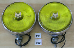 Marchal 810 Fog Driving Light Pair Cibie Carello Hella