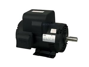 Weg 200v 208v 5hp Air Compressor Electric Motor 184t Frame 1750 Rpm 1 phase