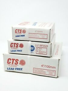 Cts Copper Flange Adapter 2 5