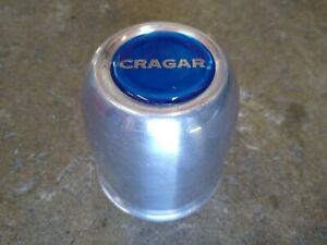 Cragar Vintage Push Through Center Cap Chrome Steel Nhra Drag Race