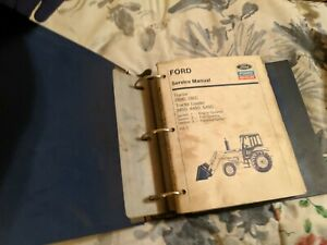 Ford New Holland 250c 260c 345d 445d 545d Tractor Loader Service Shop Manual