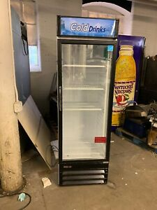 Turbo Air Tgm 14rv Used Single Glass Door Refrigerator Merchandiser