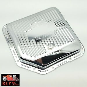 Turbo 350 Stock Capacity Chrome Transmission Pan Th350 Gm Chevy