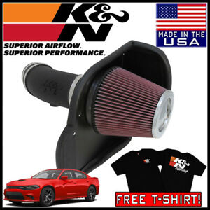 K N Aircharger Cold Air Intake System Fits 2012 2020 Dodge Charger 6 4l V8
