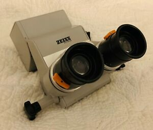 Carl Zeiss Incline Surgical Opmi Surgical Binocular Head 12 5x Eyepieces