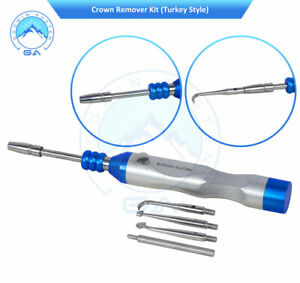 New Dental Surgical Instruments Crown Remover Gun Turkey Pattern Tools Set