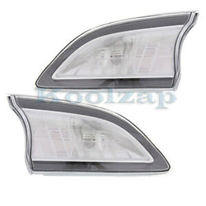 10 13 Mazda3 Hatchback Inner Taillight Back Up Rear Tail Light Lamp Set Pair