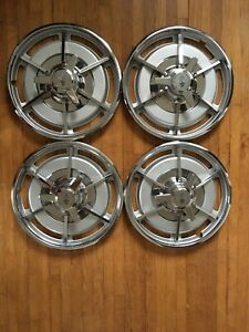 1963 Corvette Frosted Wheel Covers