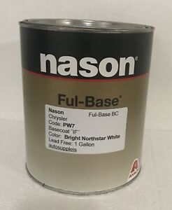 Bright Northstar White Dupont Nason Ful Base Clearcoat