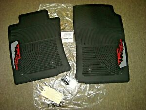 Toyota Tacoma Trd Off Road All Weather Front Floor Mats Genuine Oem 2005 2011