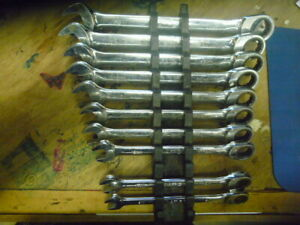 Matco Tools Usa 10pc 12pt Metric Ratcheting Wrench