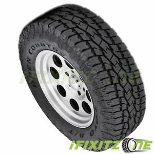 1 Toyo Open Country A t Ii Lt265 75r16 C 6 112t On off Road All Terrain Tires
