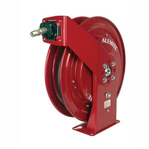 Alemite 8078 f 50 Heavy Duty Hose Reel Air water New In Box Free Shipping