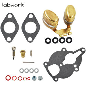 Carburetor Kit Float For Wisconsin Engine Vh4d Vhd Tjd Thd Ahh Replace Lq39