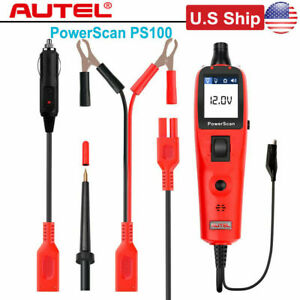 Usa Ship Autel Powerscan Ps100 Circuit Tester Electrical System Diagnostic Tools