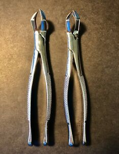 Hu friedy Immunity 88l Dental Oral Surgical Extracting Forceps lot Of 2