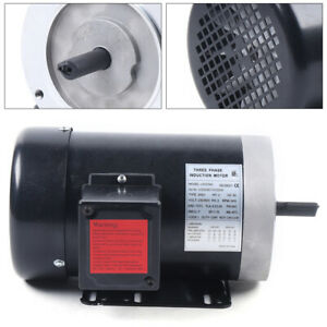 3 Phase Electric Motor 6 3 3 0a Full Load Amps Shdc 208 230 460 Volt 60 Hz New