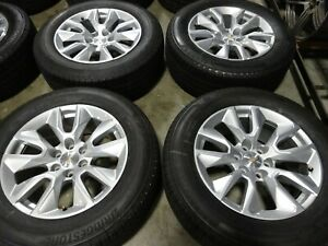 20 2019 2020 Chevy Silverado 1500 Factory Oem Wheels Rims Tires Tahoe 5915