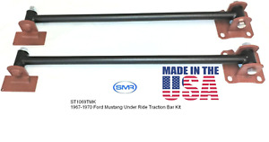 Mustang Traction Bars Pair 1967 1968 1969 1970 Traction Master Ford Traction Bar