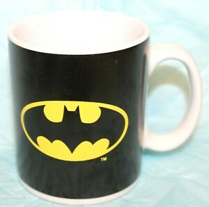 DC COMICS BATMAN COFFEE MUG W/LOGO GRAPHICS MONOGRAM INTERNATIONAL #1