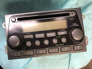 Oem 2005 Honda Element Radio Cd Player Head Unit 39101 scv a110 m1 Mf825a0