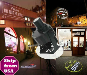 Us 40w Led Gobo Projector Outdoor Remote Contro Advertising Logo Light Meanwell