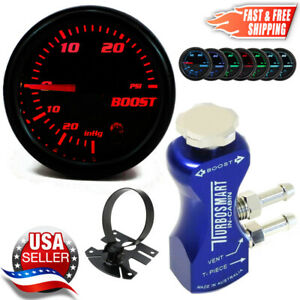 Turbosmart In Cabin Boost Controller 0106 1001 Blue 52mm Psi Boost Gauge Pod