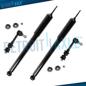 Dodge Ram 1500 Ram 2500 Shocks Absorbers Sway Bars Fits Both Front Sides 4wd