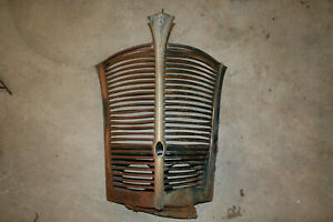 1938 1939 Ford Deluxe Standard Grille Oem
