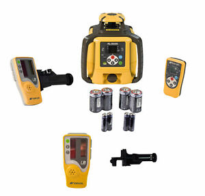 Topcon Rl sv2s Dual Grade Laser With Extra Ls 80l Laser Receiver And Bracket