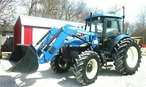 2006 New Holland Td95d Tractor Cab 4x4 Loader free 1000 Mile Delivery From Ky