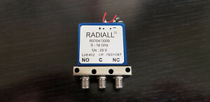 Radiall R570413000 Rf Coaxial Switch 0 18ghz 28v