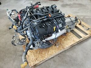 2017 F150 5 0 Coyote Engine 6r80 4x2 Automatic Transmission Stock 32v 26k Miles