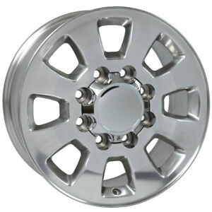 Polished Wheel For 2001 2007 Chevy Silverado 3500 18 X 8 Owh3974