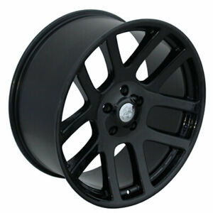 Blk Ram Srt Style Wheel For 2002 2011 Dodge Ram 1500 22x10