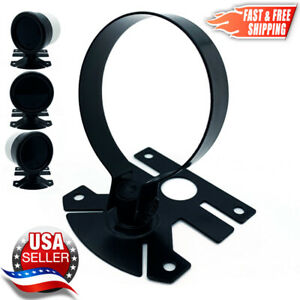 Universal 52mm Gauge Pod Swivel Mount Holder Fits 2 Defi Fast Usa Shipping