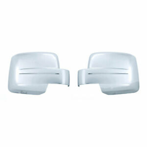 Chrome Mirror Covers full For 2008 2011 Jeep Patriot